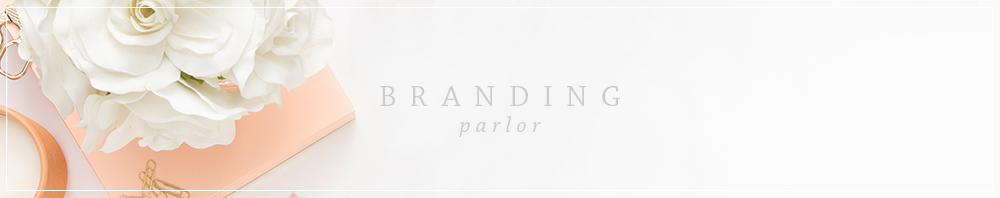 The Branding Parlor | Semi-Custom Branding Designs by Ashlee Proffitt