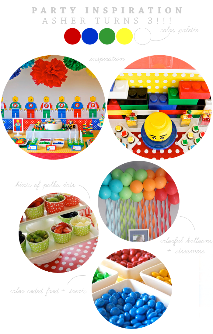 Lego Party Inspiration | Ashlee Proffitt