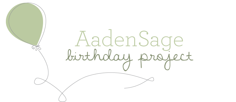 AadenSage Birthday Project | Bringing joy and peace to suffering parents.