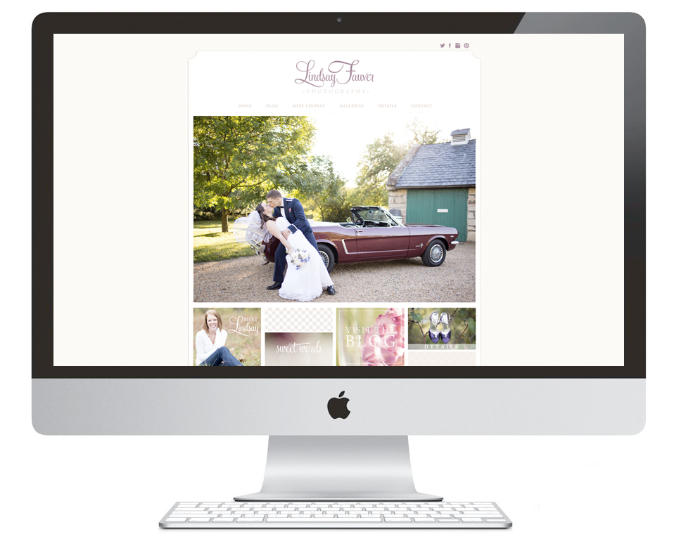 Branding for Lindsay Fauver Photography | Branding & Website Design by Ashlee Proffitt