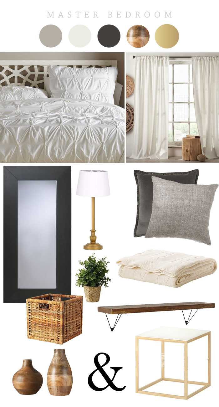 Master Bedroom Makeover Inspiration | Ashlee Proffitt