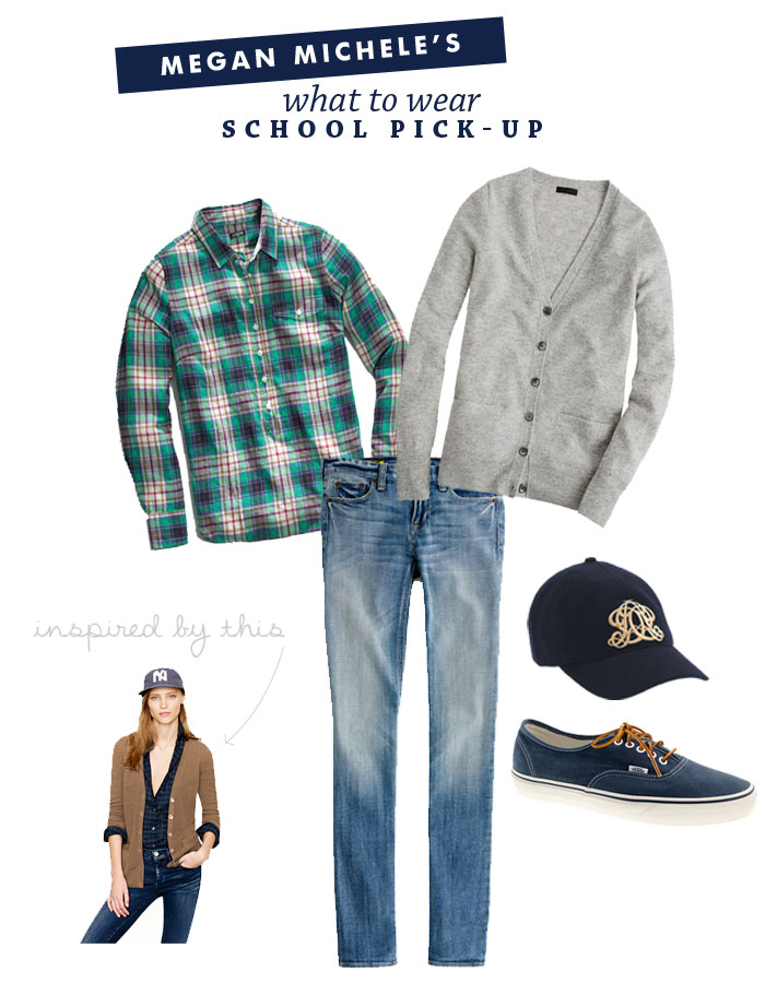 What to Wear: School Pick-Up | by Megan Michele for Ashlee Proffitt