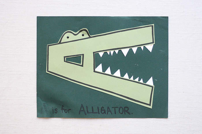 A is for Alligator | The Intentional Mama | Ashlee Proffitt