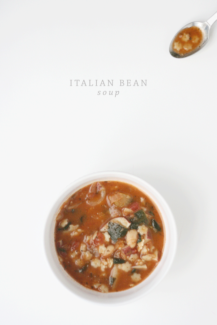 Recipe: Italian Bean Soup | Ashlee Proffitt
