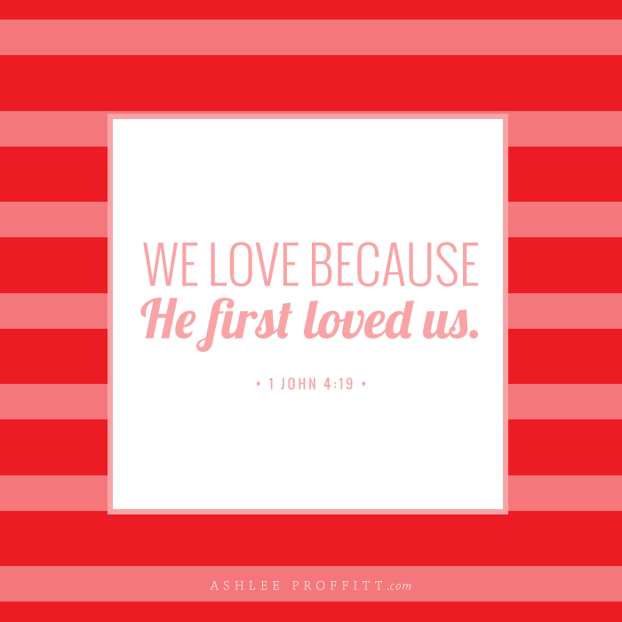 Ashlee Proffitt | Mama Monday: Valentine's Day Memory Verse