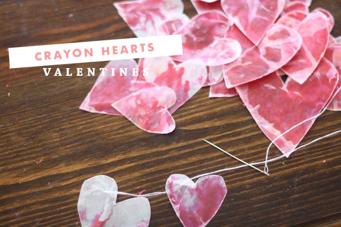 Valentines Crayon Hearts | Ashlee Proffitt