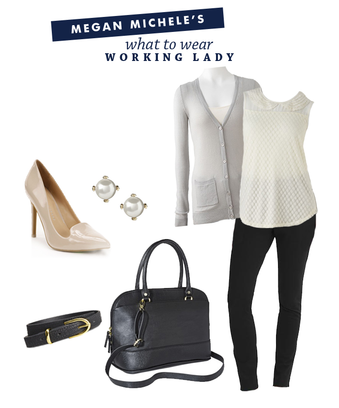 What To Wear: To Work | Ashlee Proffitt | Styled by Megan Michele