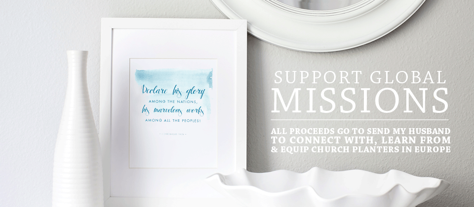 Support Global Missions | Ashlee Proffitt