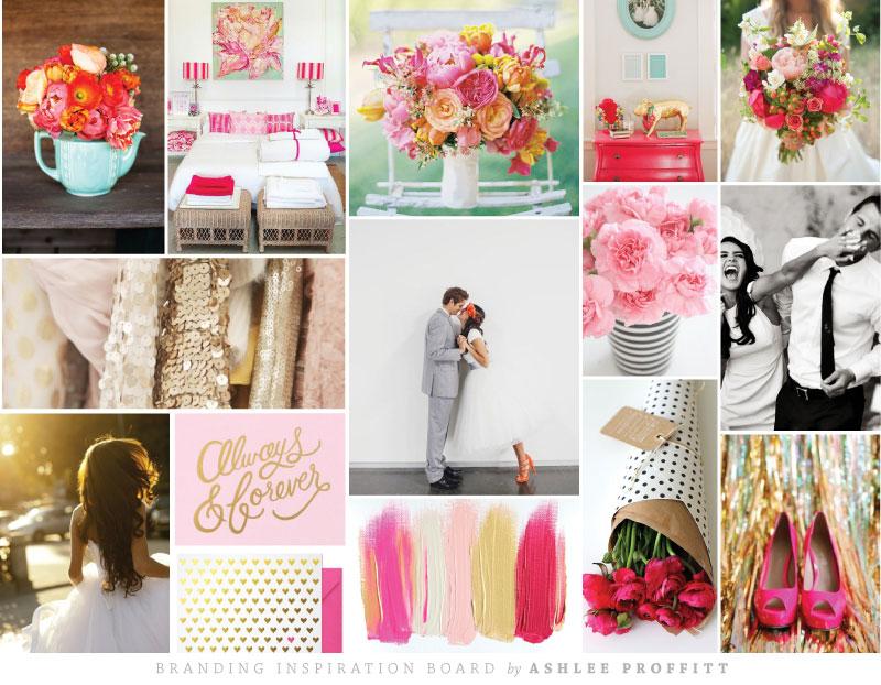 Branding Inspiration Board | Ashlee Proffitt