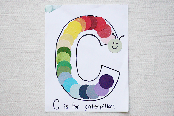 C-is-for-Caterpillar | Intentional Mama by Ashlee Proffitt