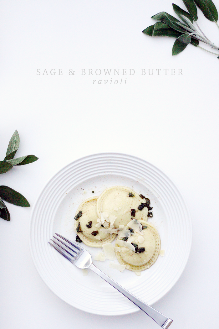 Sage & Browned Butter Ravioli | Ashlee-Proffitt [Recipe by Taste of Home]
