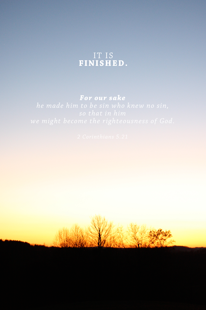 True Meaning of Easter | 2 Corinthians 5:21 | by AshleeProffitt.com