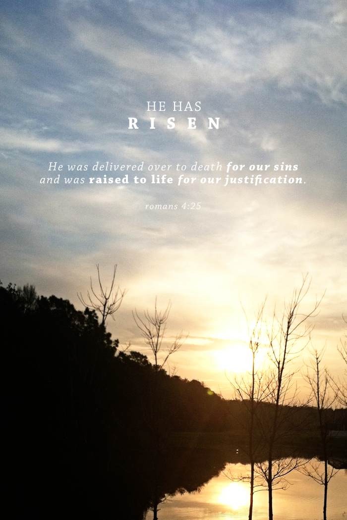 True Meaning of Easter | Romans 5:25 | by AshleeProffitt.com