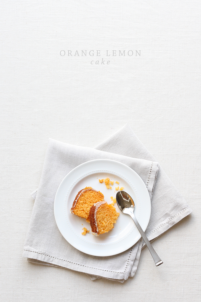 Orange Lemon Cake | AshleeProffitt.com