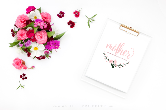 Mothers Day Art Print | AshleeProffitt.com