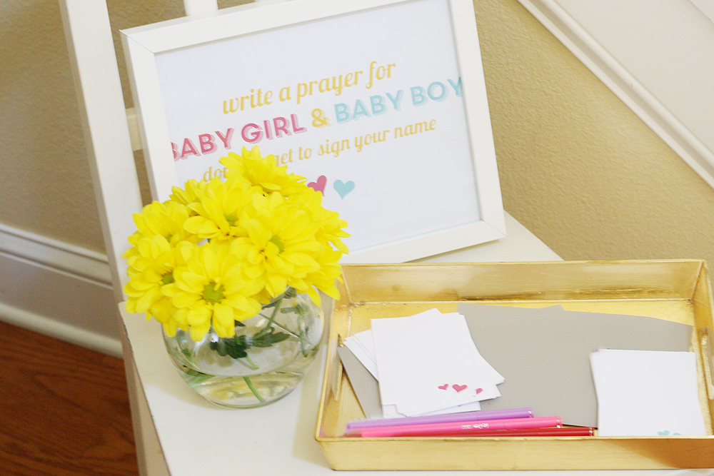 Baby Shower for Twins | Ashlee Proffitt