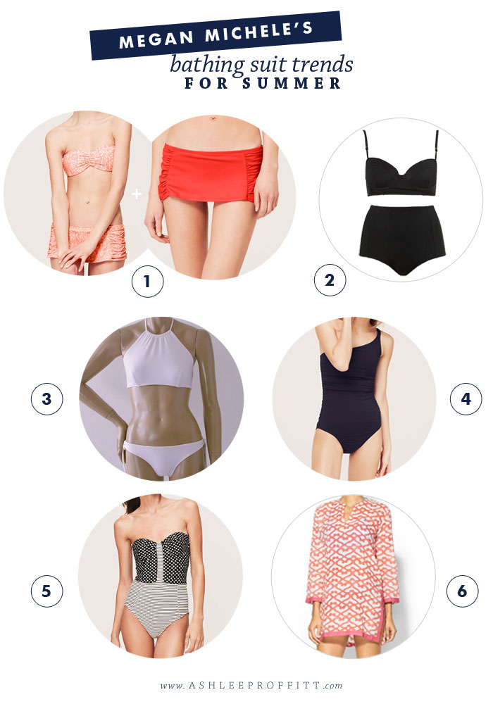 Bathing Suit Trends For Summer | Megan Michele for AshleeProffitt.com