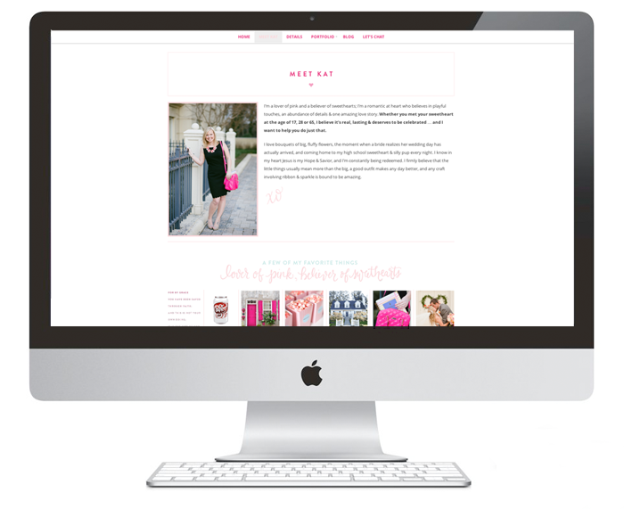 Brand Board | Dear Sweetheart Events | Branding Development & Website Design by Ashlee Proffitt