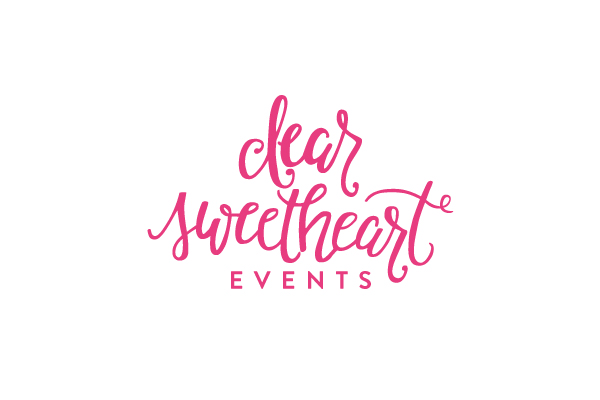 Dear Sweetheart Events | Brand Design by Ashlee Proffitt