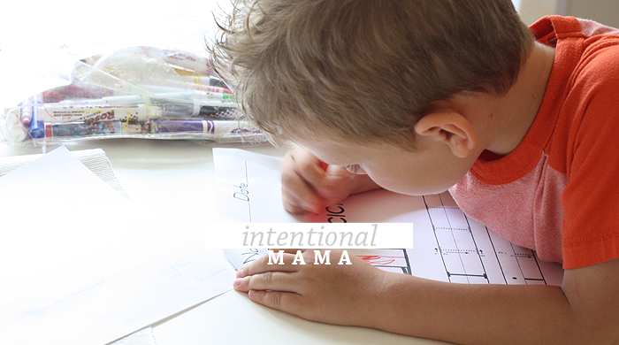 Intentional Mama | Simple Ideas for Non-Homeschooling M