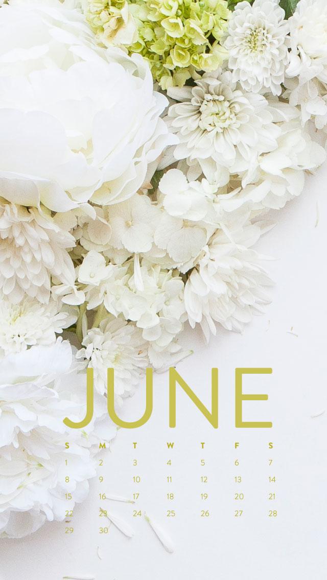 Happy June Desktop Calendar Iphone Wallpaper Ashlee