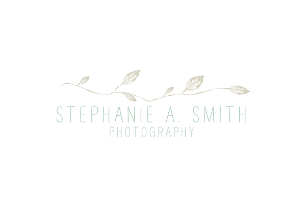 Stephanie Smith Photography | Brand Design by Ashlee Proffitt