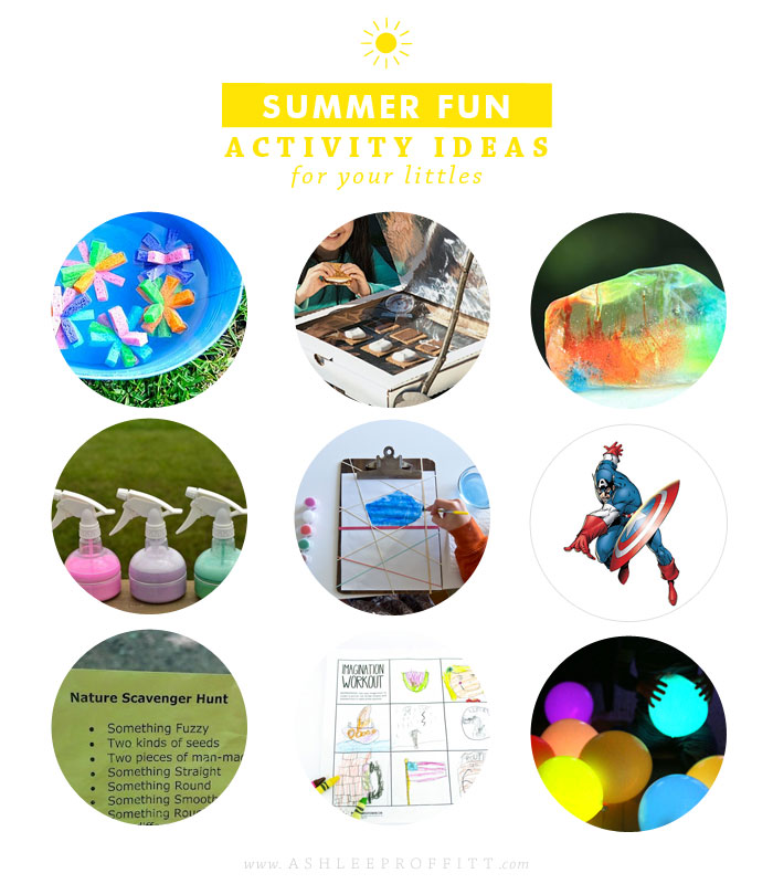 Intentional Mama: Summer Fun Activity Ideas | Ashlee Proffitt
