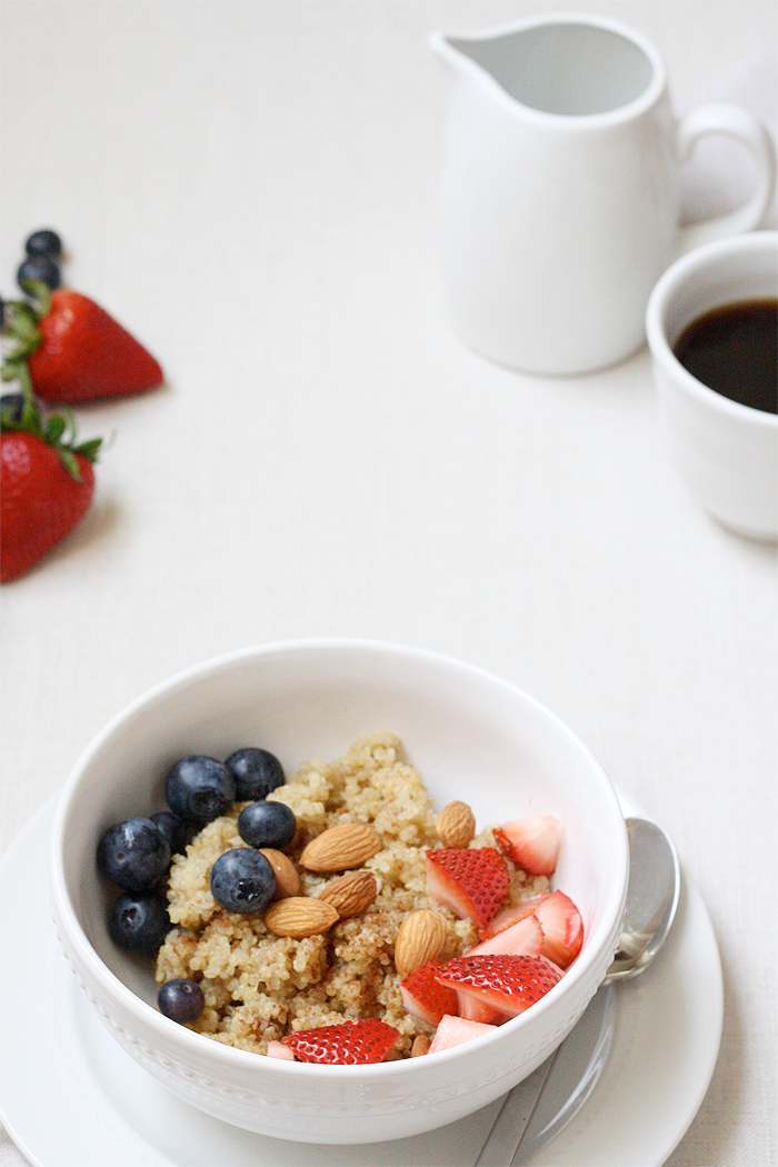 Recipe: Breakfast Berry Quinoa | Ashlee Proffitt