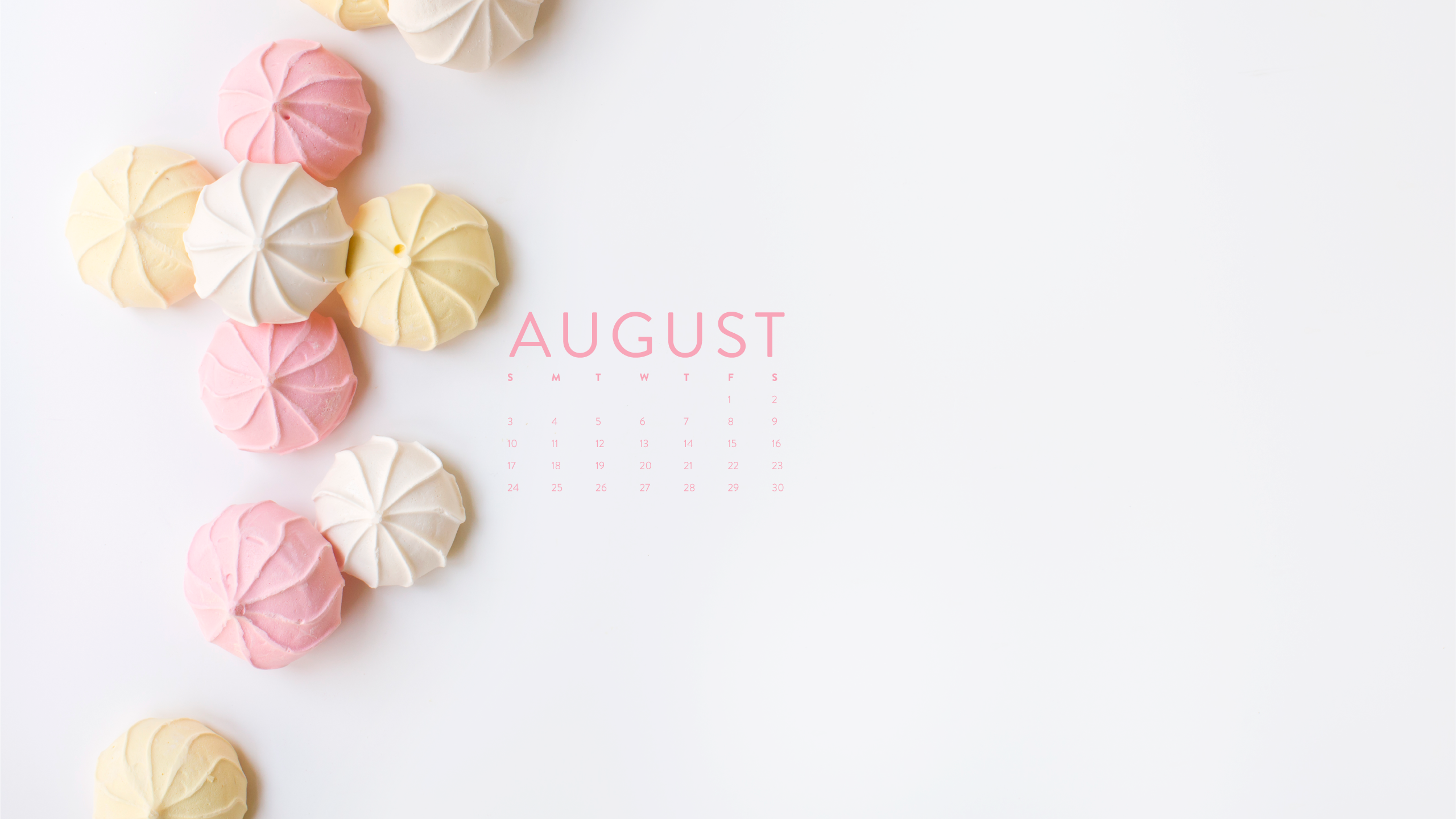 Happy August: Desktop Calendar + IPhone Wallpaper – Ashlee ...