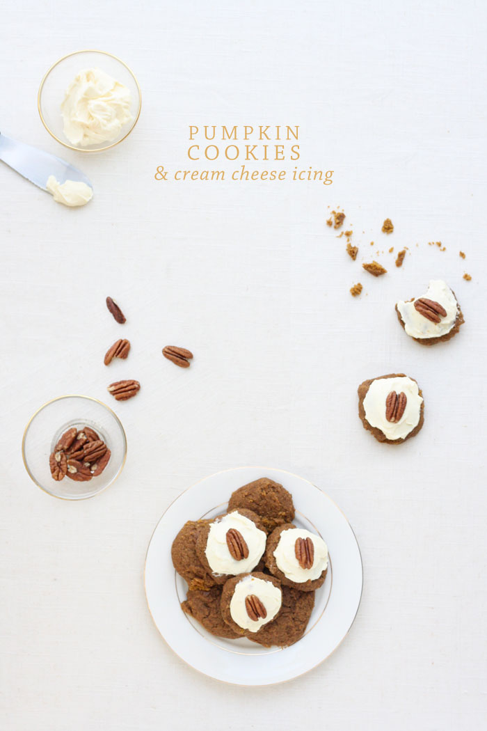 Recipe: Pumpkin Cookies | Kate Sacra for Ashlee Proffitt
