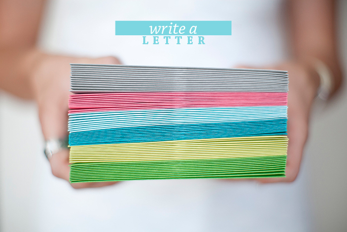 Intentional Mama: Write a Letter | Ashlee Proffitt