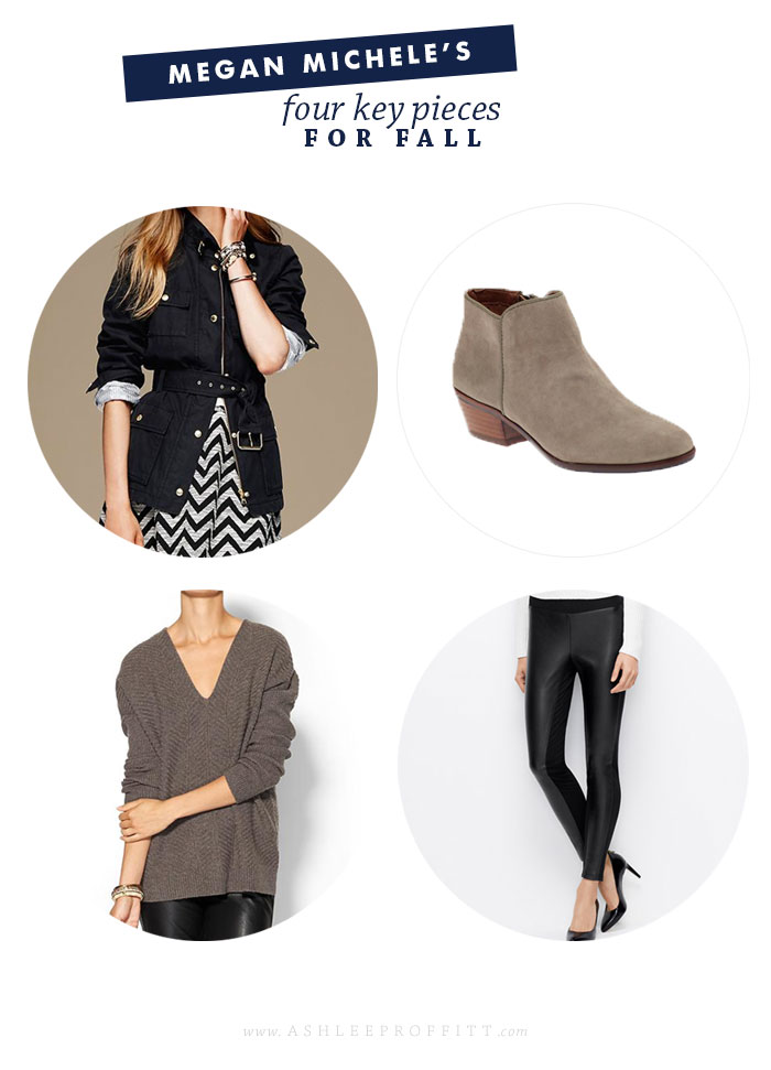 Fashion: 4 Fall Essentials  | Megan Michele for AshleeProffitt.com