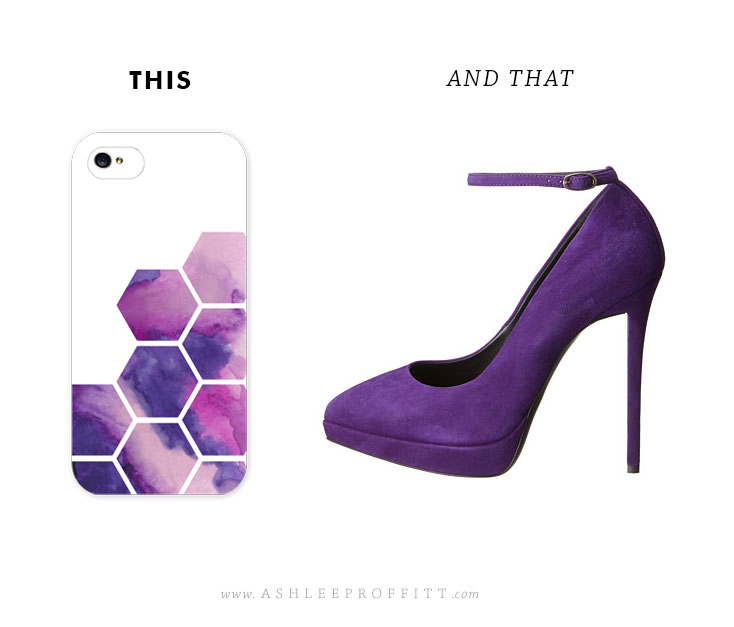 This & That | Iphone Case + Suede Pumps