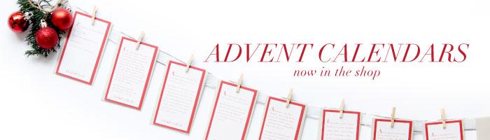 Advent Art Prints | by Ashlee Proffitt | shop.ashleeproffitt.com | Photography by Shay Cochrane