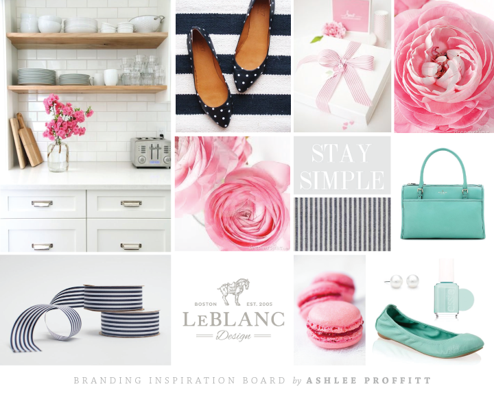 Branding Inspiration Board for Paige Simple by Ashlee Proffitt