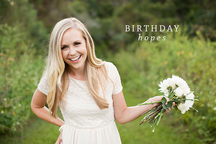 Birthday Hopes & Prayers | Ashlee Proffitt
