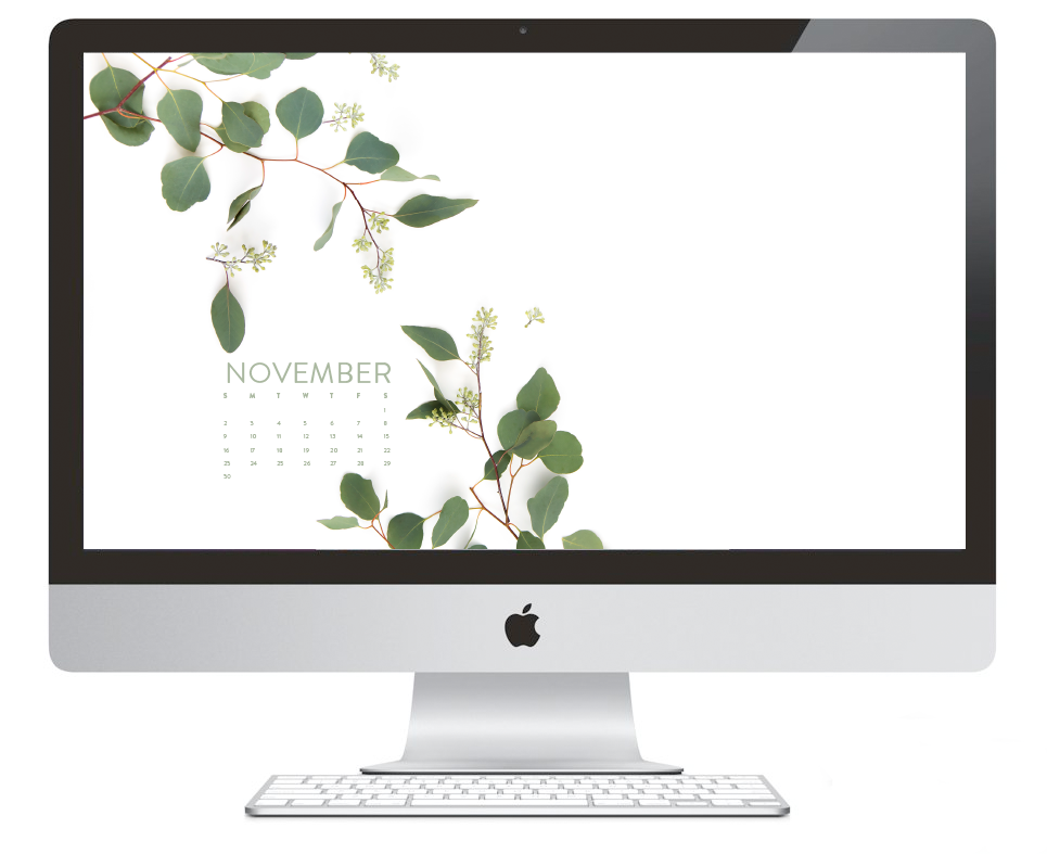 Free desktop calendar + iPhone wallpapers | ashleeproffitt.com/blog