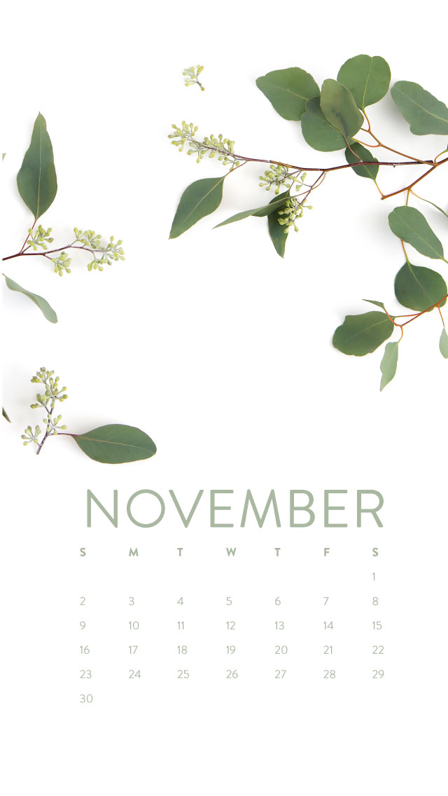 November Calendar Wallpaper For Iphone : Happy november desktop iphone wallpaper ashlee proffitt