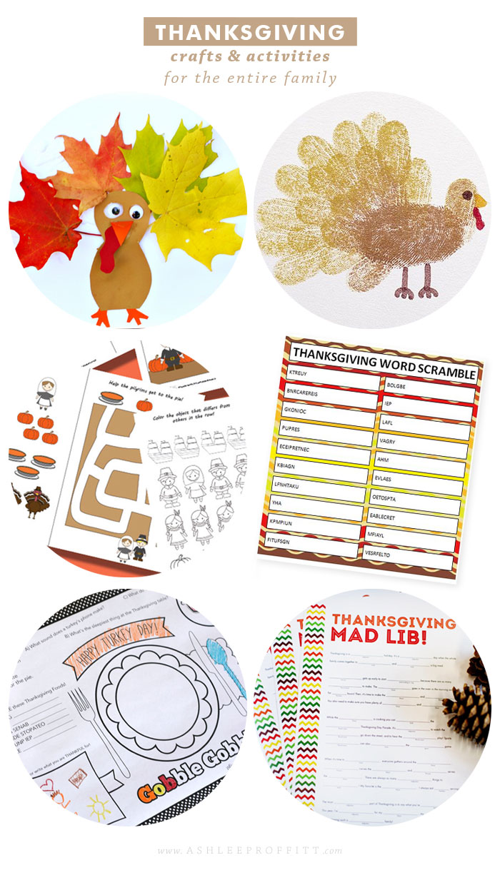 Children's Thanksgiving Crafts & Activities | Intentional Mama by Ashlee Proffitt