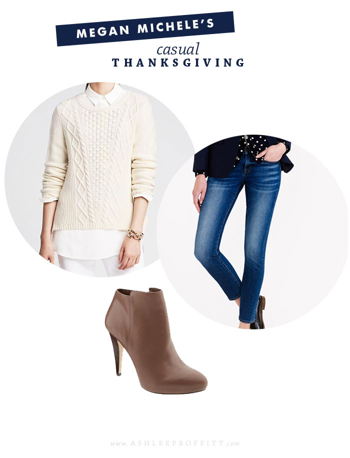 Style Post: Thanksgiving Day Casual Look | by Megan Michele for Ashlee Proffitt