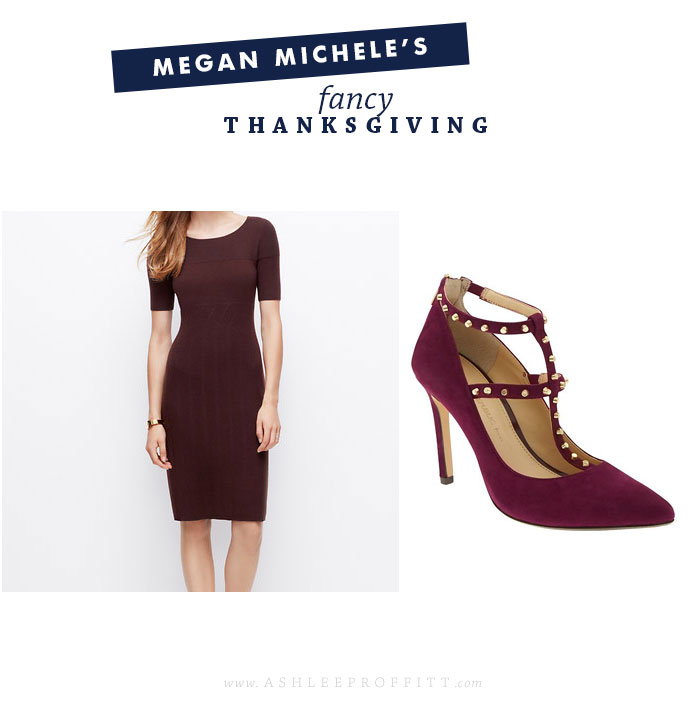 Style Post: Thanksgiving Day Fancy Look | by Megan Michele for Ashlee Proffitt