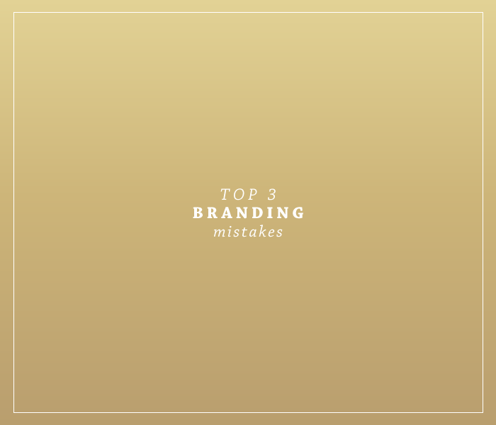 Top 3 Branding Mistakes | by Ashlee Proffitt