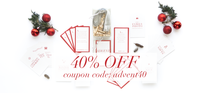 Advent Calendar SALE | 40% OFF | by Ashlee Proffitt