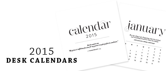 Desk Calendar with Monthly Bible Verse | by Ashlee Proffitt | shop.ashleeproffitt.com