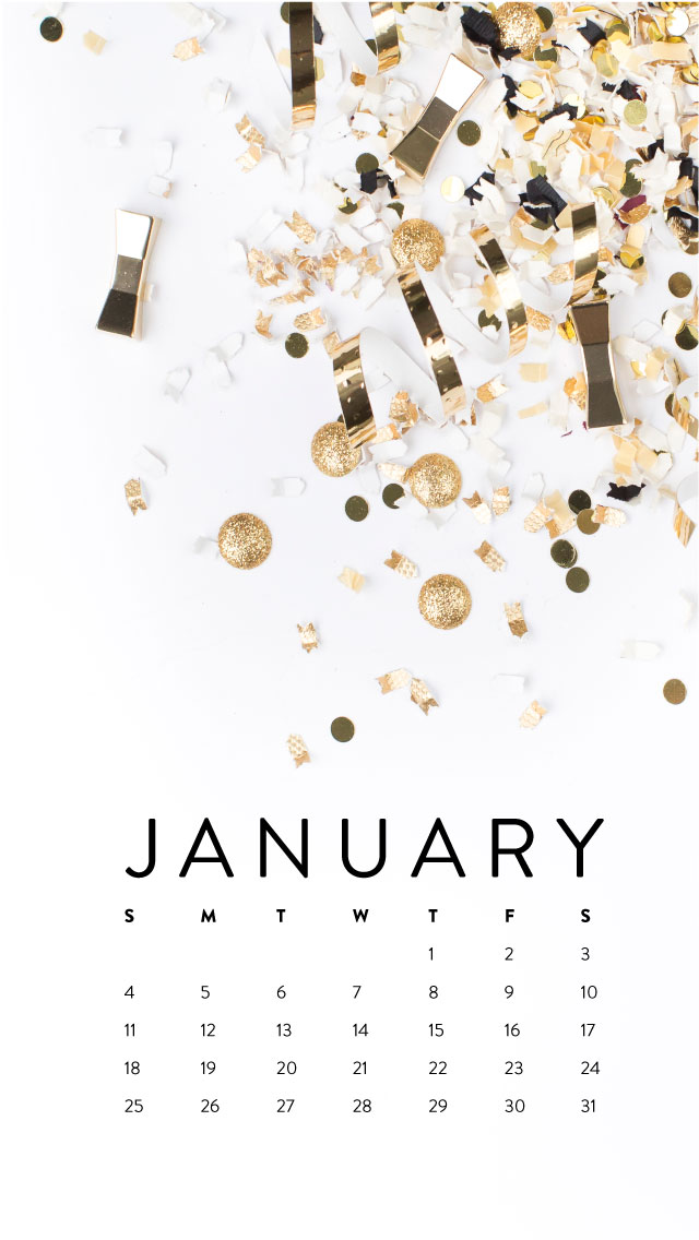 Iphone Calendar Wallpaper January : Happy new year desktop iphone wallpapers ashlee proffitt