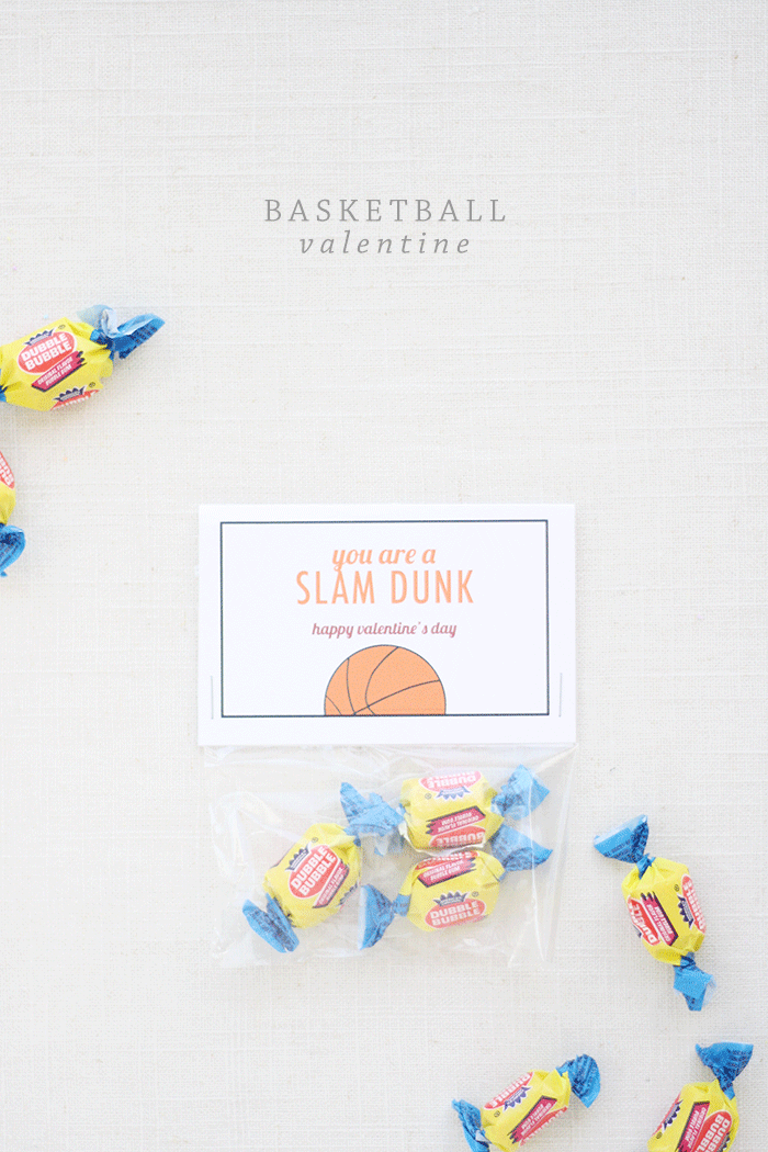 Basketball Valentine Printable | by Ashlee Proffitt