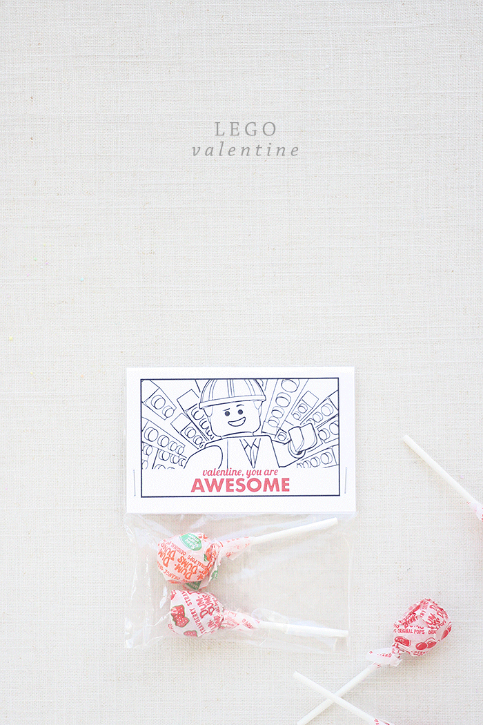 Lego Valentine Printable | by Ashlee Proffitt