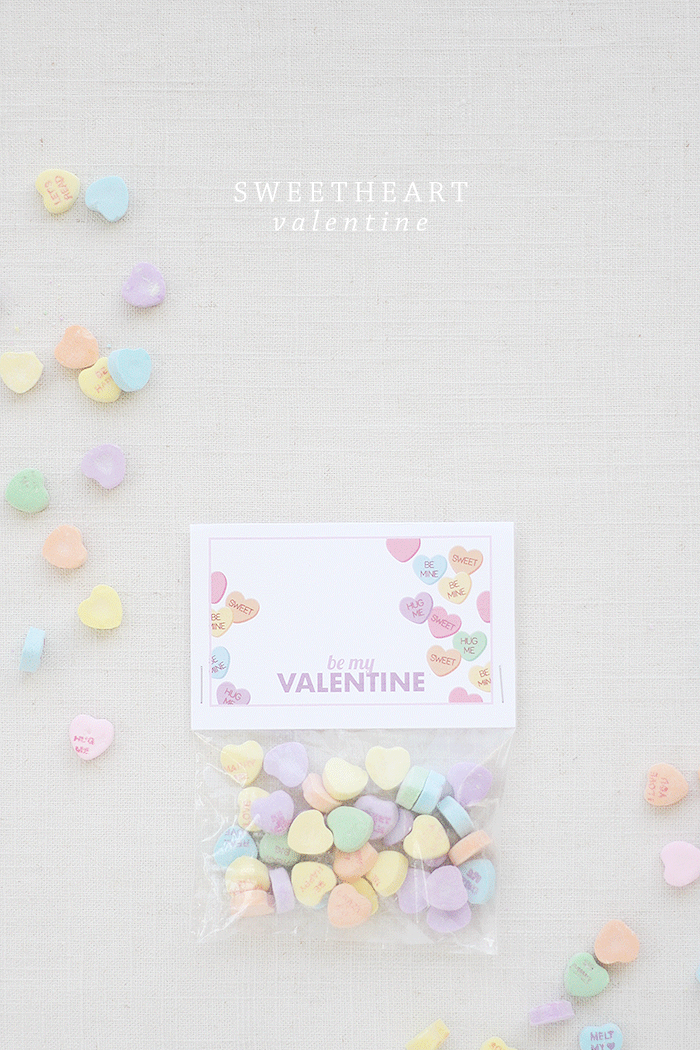 Sweetheart Valentine Printable | by Ashlee Proffitt