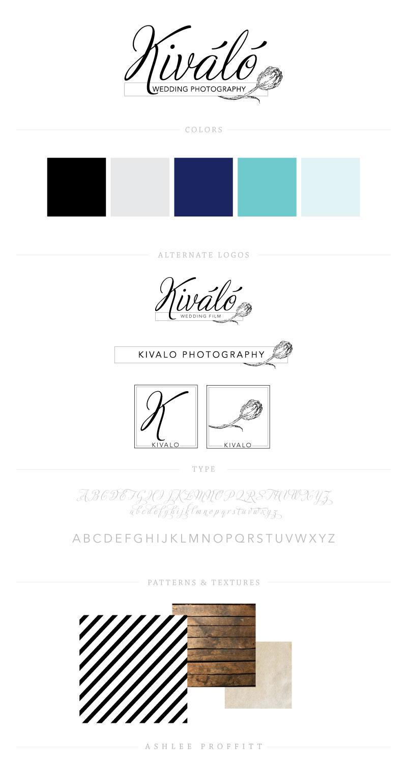 Kivalo Photography Brand Elements | by Ashlee Proffitt