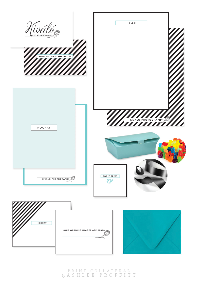 Kivalo Photography Print Collateral   by Ashlee Proffitt